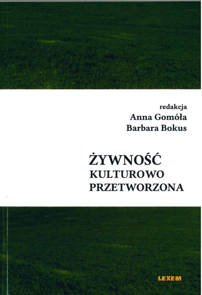 Book Cover: Żywność kulturowo przetworzona